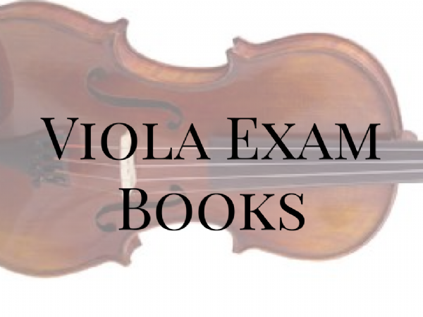Viola Exam Books